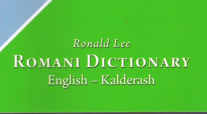 Romani Dictionary:  English – Kalderash